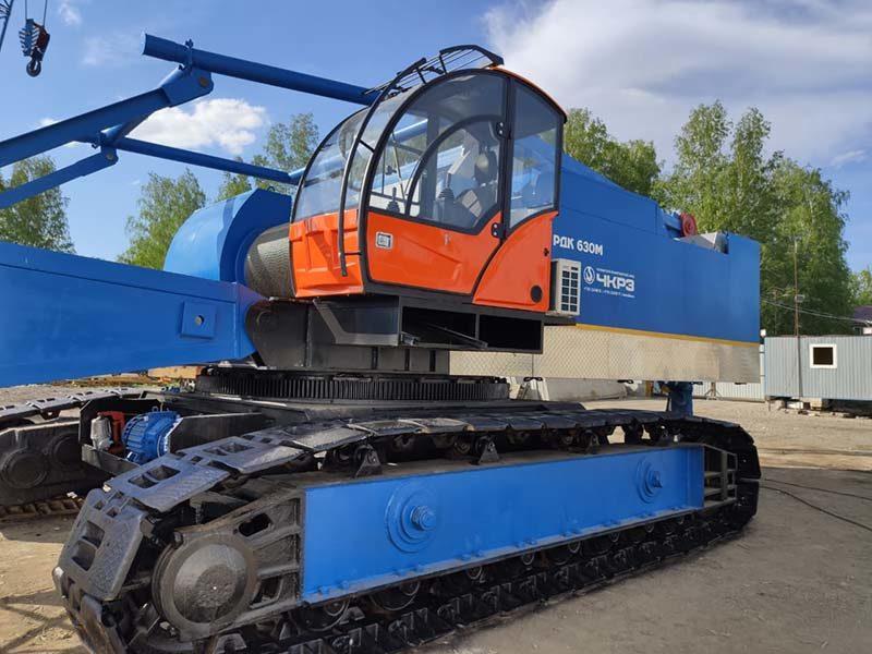 гусеничный кран РДК-250М