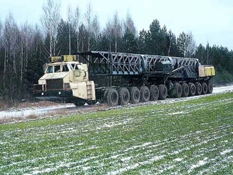 МАЗ-7907: 24 ведущих колеса ядерной брутальности