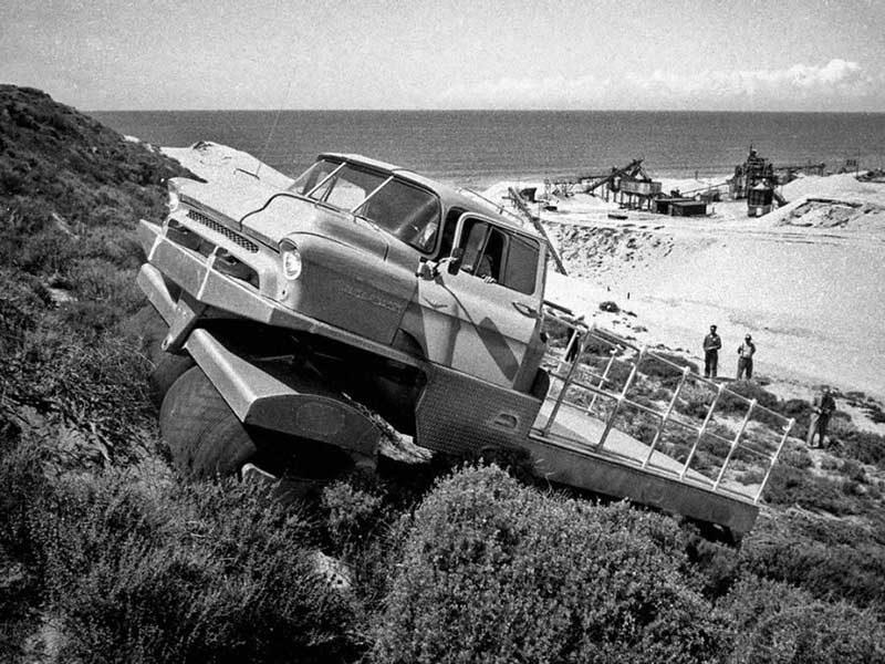 Albee Rolligon Transporter: вездеход, на котором можно переехать живого человека больше одного раза