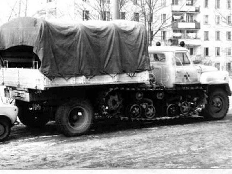 БВСМ-80: гусеницами ГАЗик не испортишь