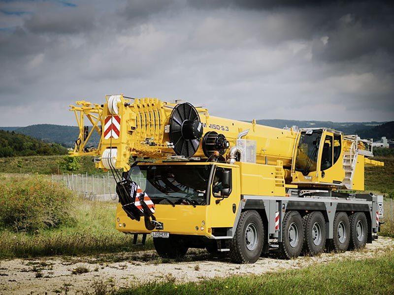 Кран Liebherr LTM 1150-5.3: новинка