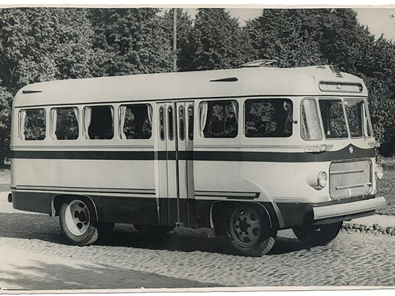 Советские автобусы: ТА-6