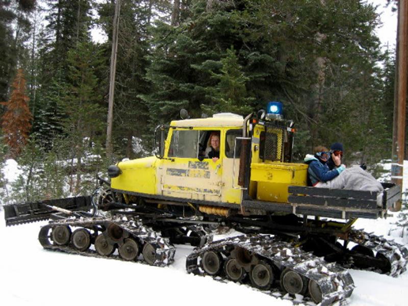 Tucker Sno - cat: снеговездеходы в американском исполнении