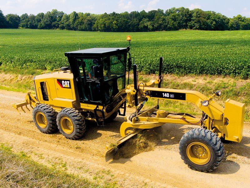 Новый CAT®140 GC: производительность при низкой стоимости часа эксплуатации