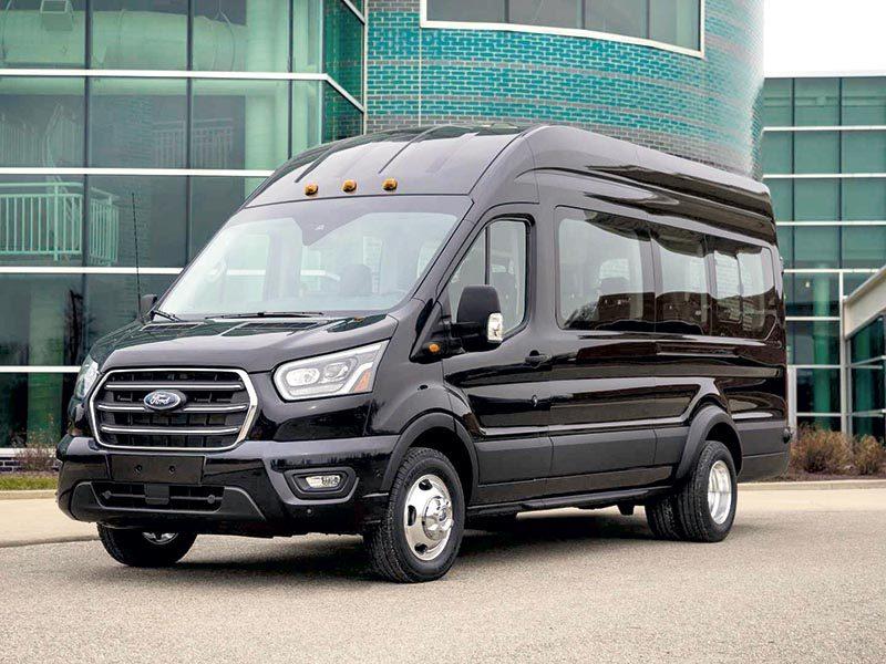 Лучшее лёгкое коммерческое авто. Ford Transit