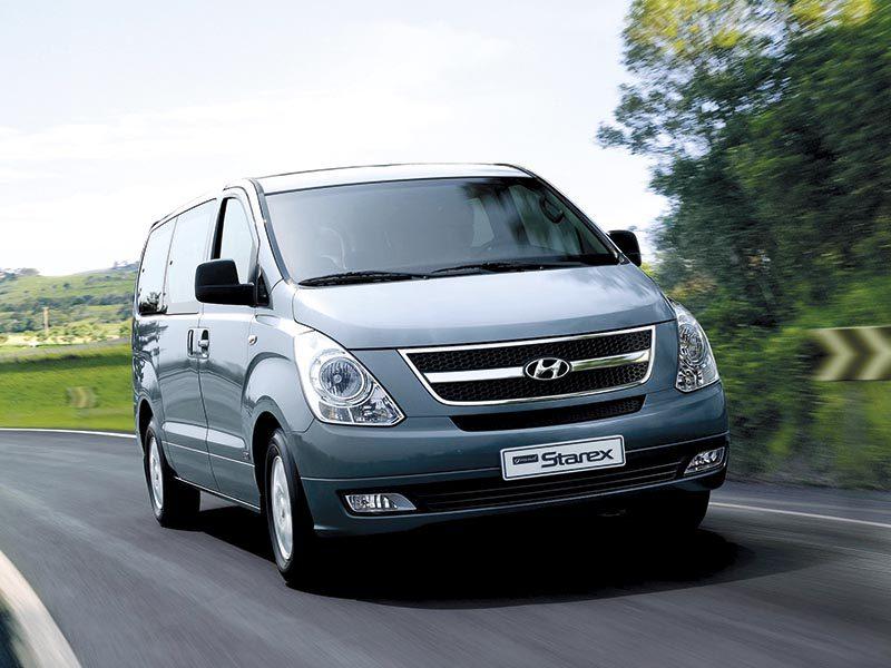 Лучшее лёгкое коммерческое авто. Hyundai H-1 Grand Starex