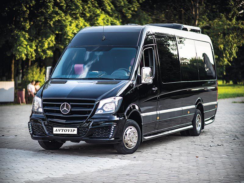 Лучшее лёгкое коммерческое авто. Mercedes-Benz Sprinter