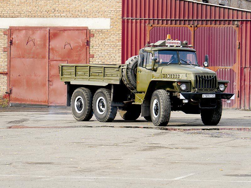 «Урал 43203» — армеец на «гражданке»