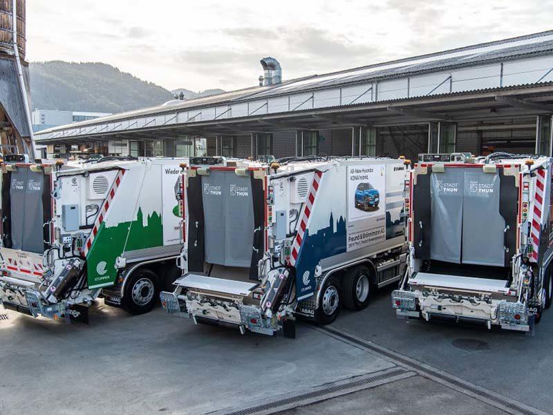 Гибридные мусоровозы MAN TGS оборудовали и коробками передач Allison
