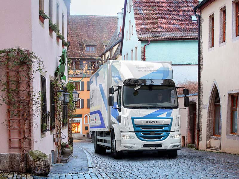 DAF Trucks представила электроприводный грузовиков