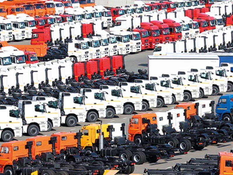 Рынок грузовых машин закончил год в «минусе»