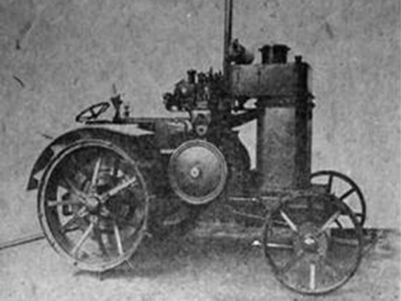 """первый советский трактор ретро трактора трактор коломенец 1 Первый советский трактор """"Коломенец - 1"""""""