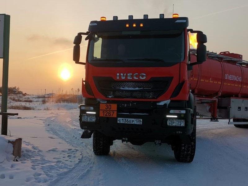 Iveco-AMT выпустил автомобили для сильных морозов