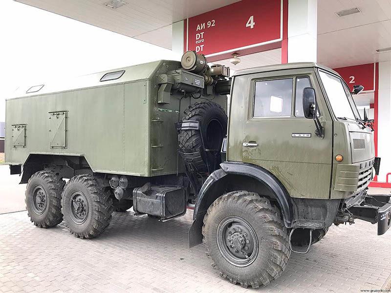 КамАЗ-4310 с КУНГом.