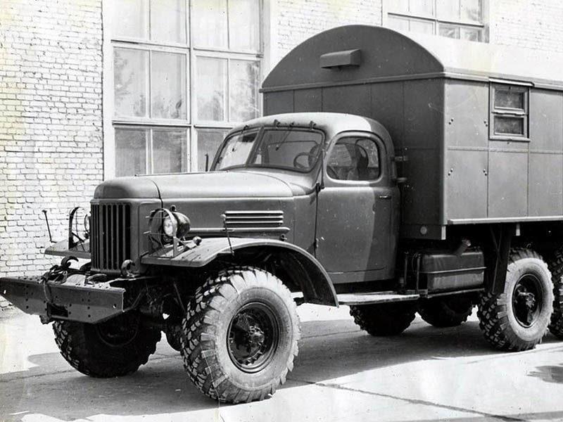 КУНГ-1М на шасси ЗИЛ-157. 1961 год (архив 21 НИИЦ)