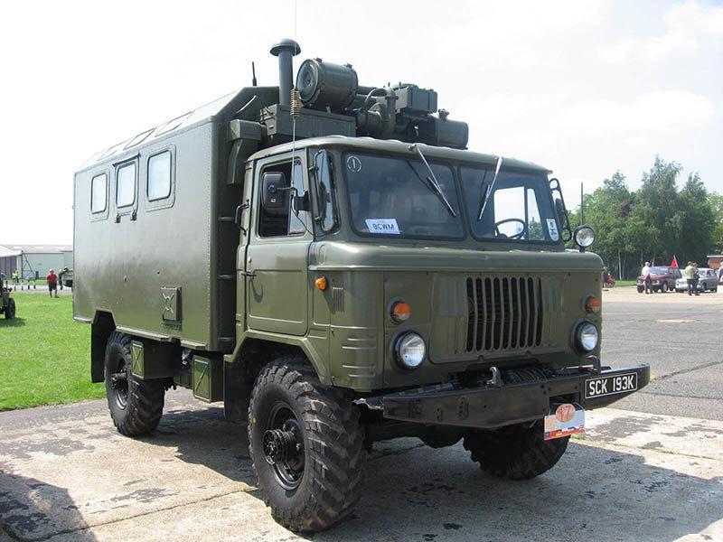 КУНГ-66 на шасси ГАЗ-66
