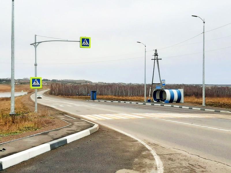 Обустройство пешеходных переходов на остановках транспорта