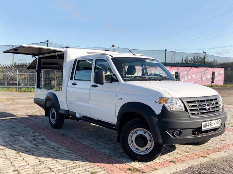 На базе УАЗ Профи сделали новый универсальный автомобиль
