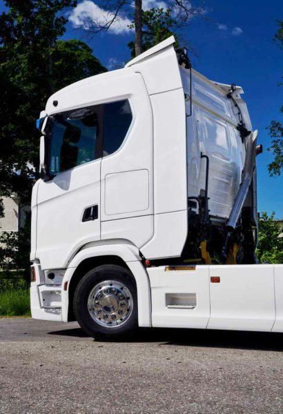 Удлинённая кабина Scania сделает грузоперевозки более комфортными