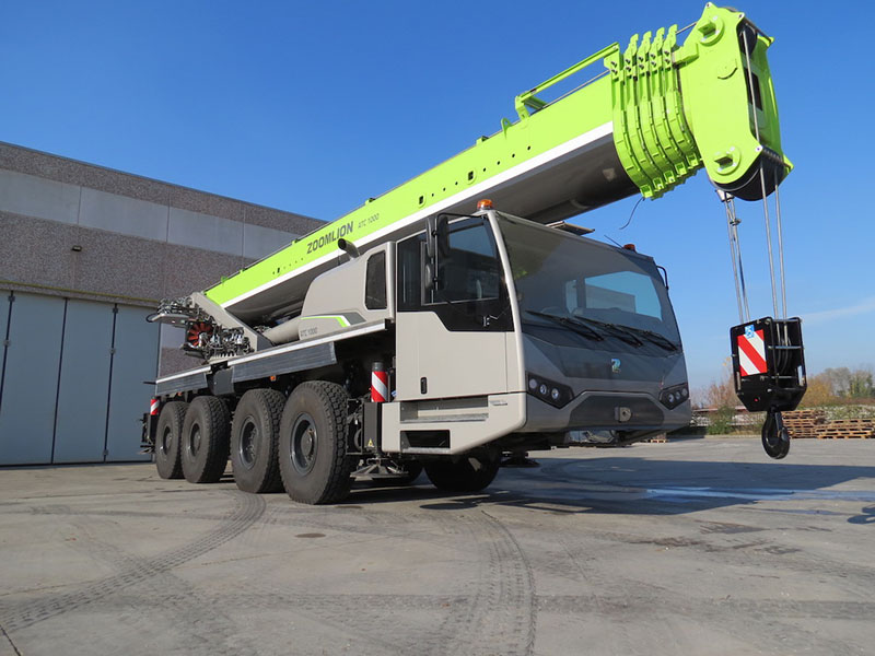 Zoomlion запускает новый завод в Европе