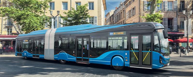 Электрический автобус IVECO E-Way удостоен награды DNA Paris Design Awards 2021