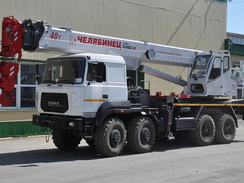 40-тонный автокран КС-65711