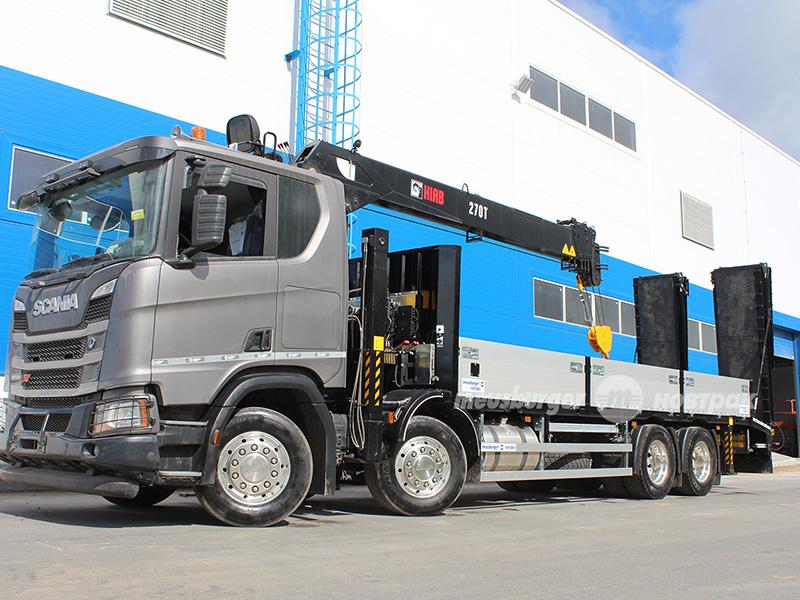 В «Meusburger Новтрак» представили 20-тонный эвакуатор