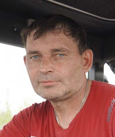 Андрей Василевич, тракторист