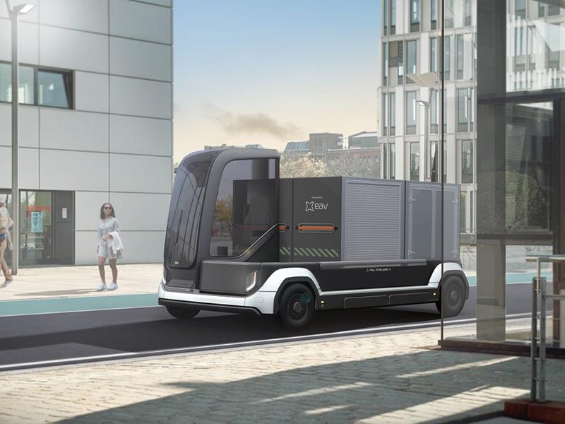 В Electric Assist Vehicles разработали многофункциональный городской электрогрузовик
