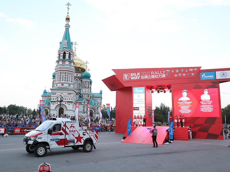 «ГАЗели» и «Садко» отправились в Монголию по Шелковому пути