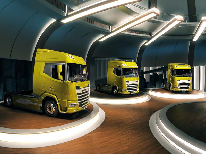 DAF представил новое поколение грузовиков в AR-формате. Испытать их можно уже сейчас