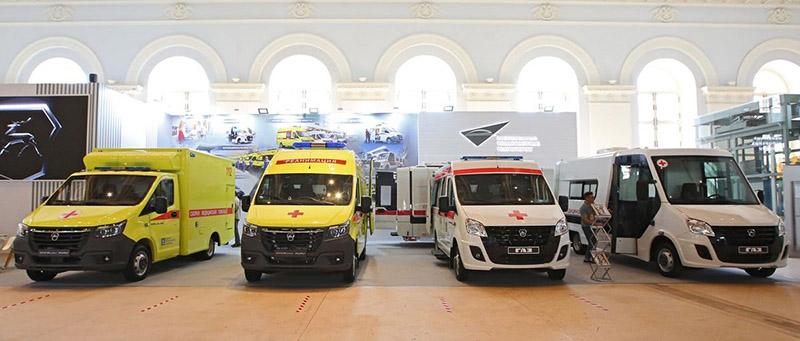 Горьковский автозавод показал в столице четыре конфигурации медицинских автомобилей