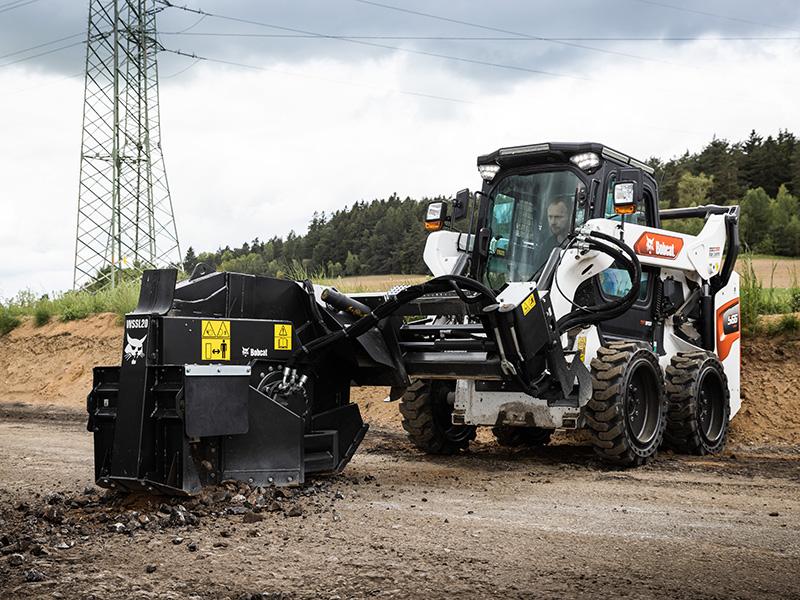 В Bobcat расширили линейку оборудования для дорожных работ