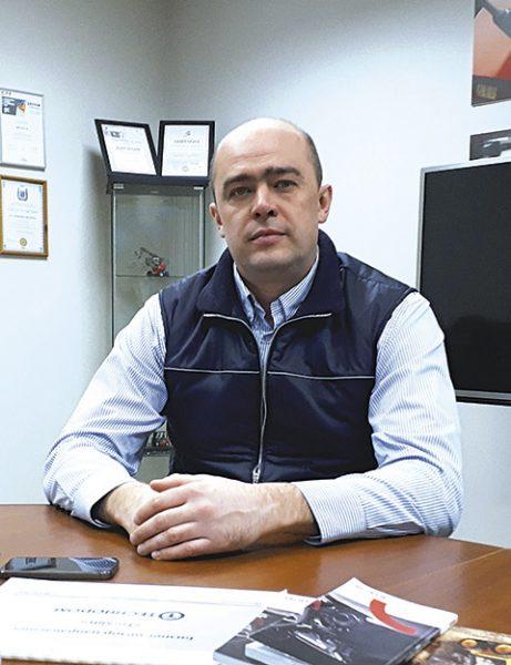 Станислав Шульга, координатор отдела продаж строительной и индустриальной техники ООО «Маниту Восток» (Manitou)
