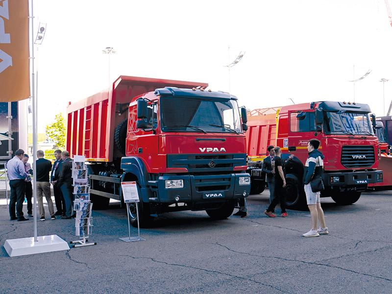 Bauma-CTT 2021: грузовик Урал
