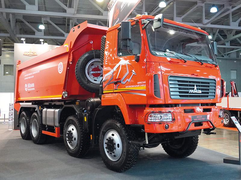 Bauma-CTT 2021: грузовик МАЗ