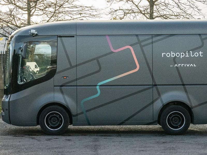 В Великобритании протестировали автономный фургон Arrival