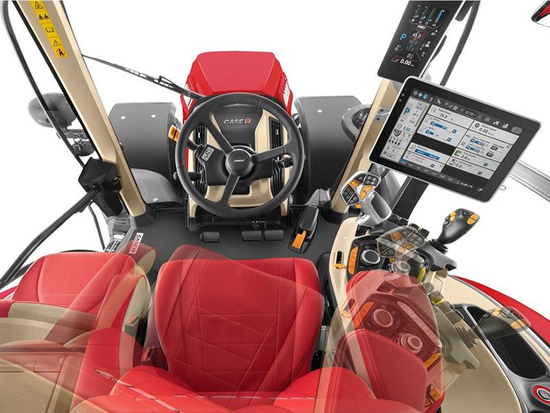Компания Case модернизировала трактор Optum CVXDrive