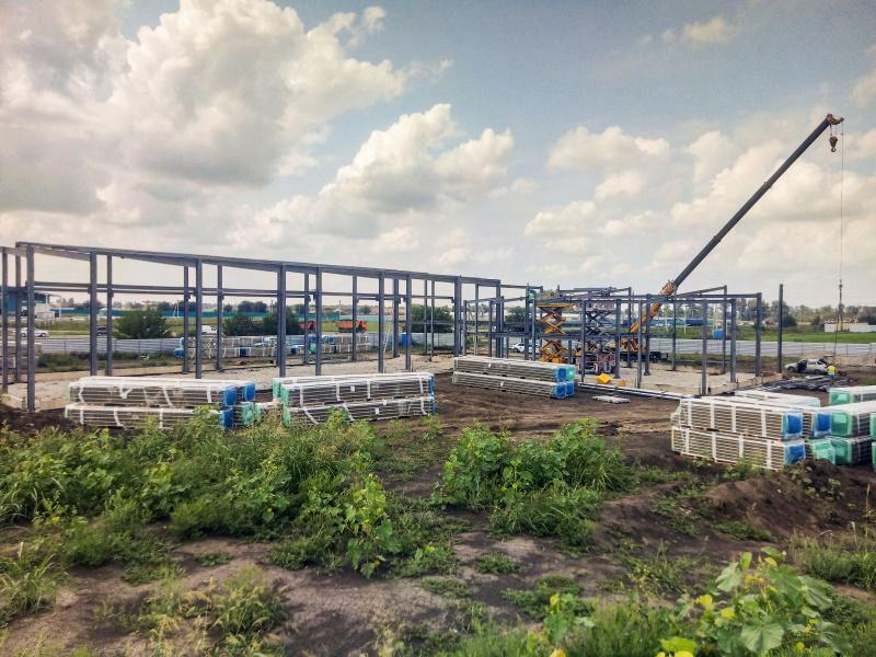 «Альтаир» начал строительство одного из самых больших в России дилерских центров Case IH и New Holland Agricultur