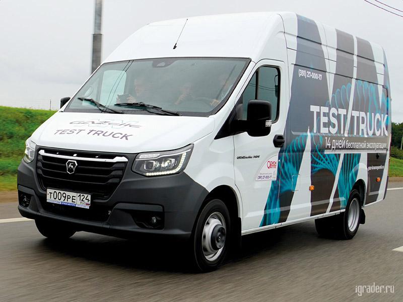 «ГАЗель NN»: тест-драйв цельнометаллического фургона